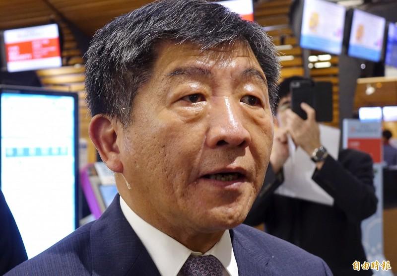 衛福部長陳時中今天批評,給高雄市的登革熱防治特別經費年初早已給了,且比給台南的6百多萬元、屏東的5百多萬元還多。(資料照)