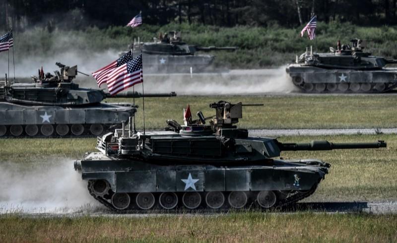 M1A2戰車有著「地表最強戰車」的美譽,綜合能力比起國軍現役戰車更加優秀。(歐新社)