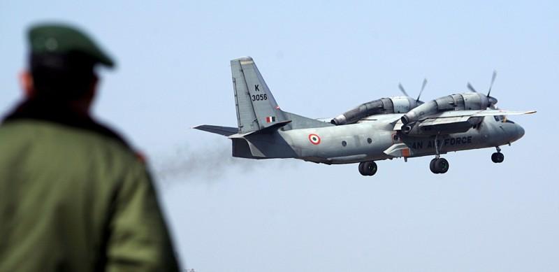 印度空軍AN-32運輸機。(路透)