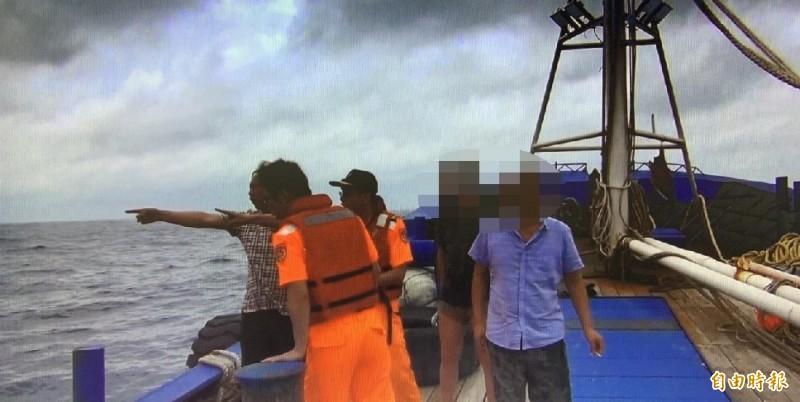 中國漁船撞壞蘇澳籍漁船 海巡登檢替漁民討公道