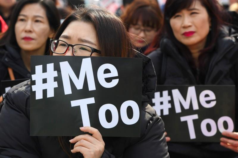 韓國有46%的夜歸女子擔心碰到陌生人。(法新社)