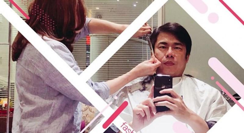 陳其邁在臉書貼出理髮照,替最新的網路傳言闢謠。(圖擷取自陳其邁臉書)