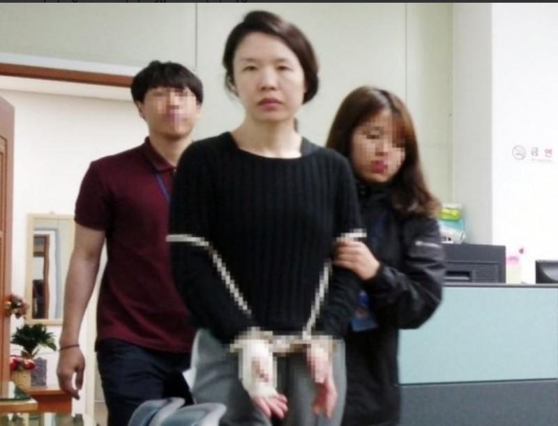 韓國人妻殺害前夫後再肢解棄屍,震驚南韓社會。(圖擷自@moneytodaynews推特)