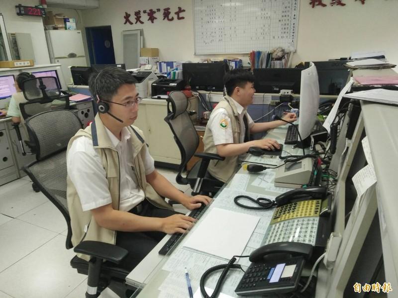 整合消防與警察通報系統 竹市1秒救災通報上線了