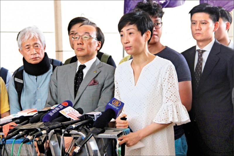 香港公民黨立法會議員陳淑莊(路透)