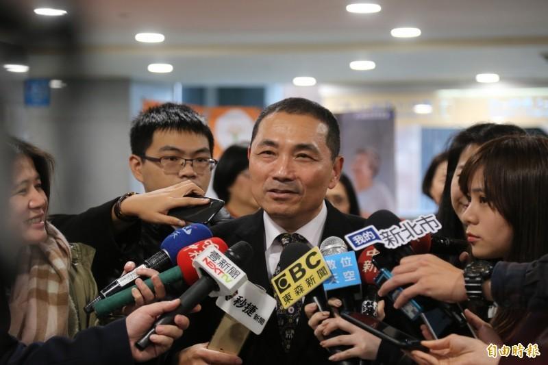 新北市長侯友宜3月曾說,鬥毆事件如果無法有效處理,責任在地方首長而非警察局長。(資料照)