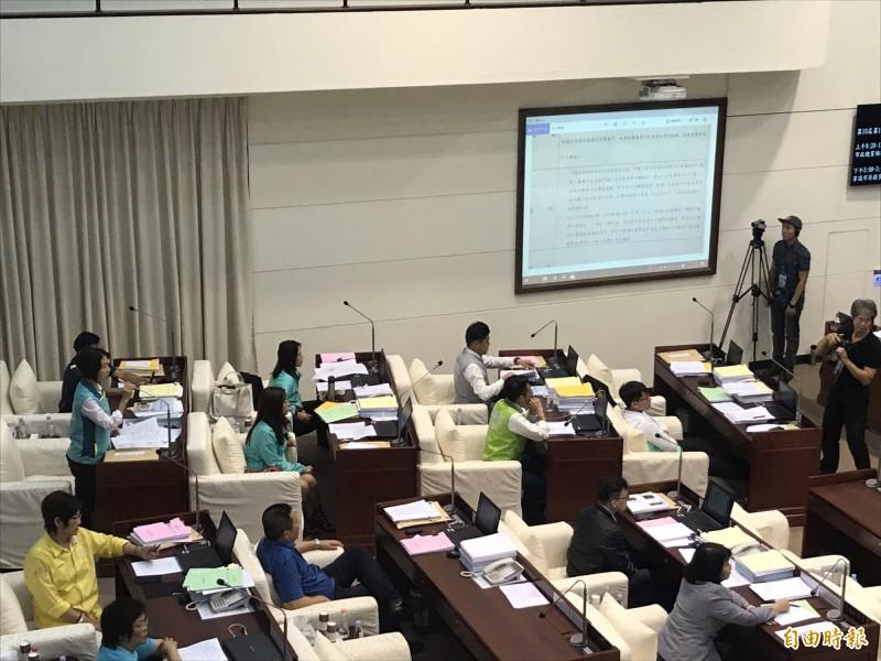 竹市議會民進黨團提案聲援「反送中」 國民黨團反對