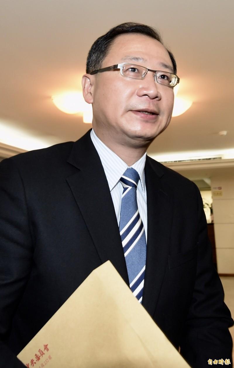 立法院國民黨團書記長吳志揚說,《逃犯條例》修法在香港所引發的群眾示威、武力鎮壓令人遺憾與痛心,期盼港府重視民主精神及保障人權等普世價值,化解社會更嚴重的對立。(資料照)