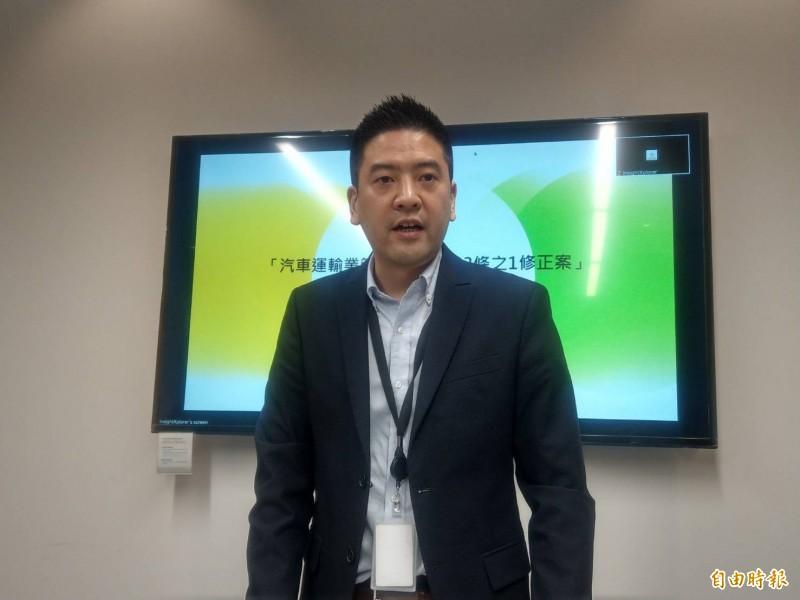 Uber台灣區總經理吳罡表示,還是希望能以政府認同、合法營運的模式繼續留在台灣。(記者鄭瑋奇攝)