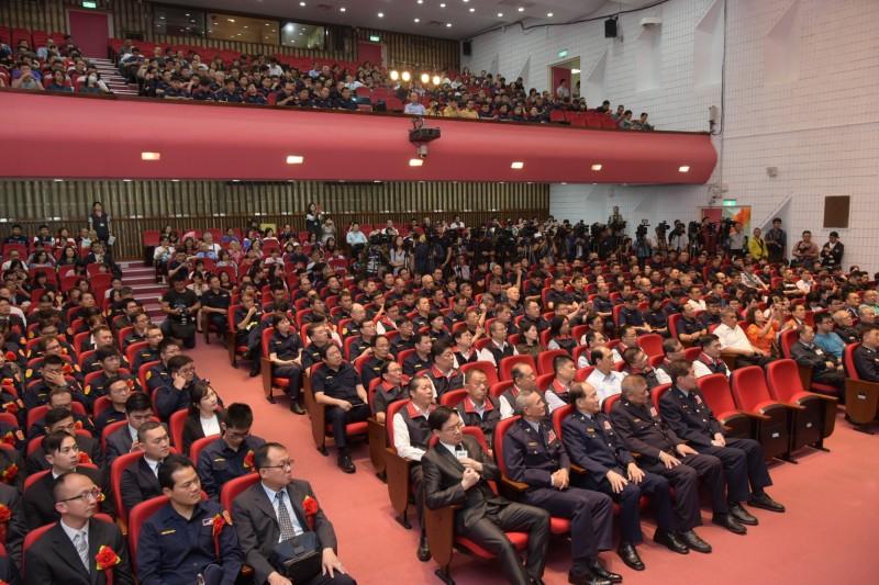 北市第27屆金吾獎 表揚40名獲獎人及模範警察