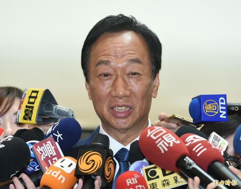根據富比世雜誌(Forbes)2019年全球億萬富豪榜,鴻海董事長郭台銘以身價63億美元蟬聯台灣首富。(資料照)