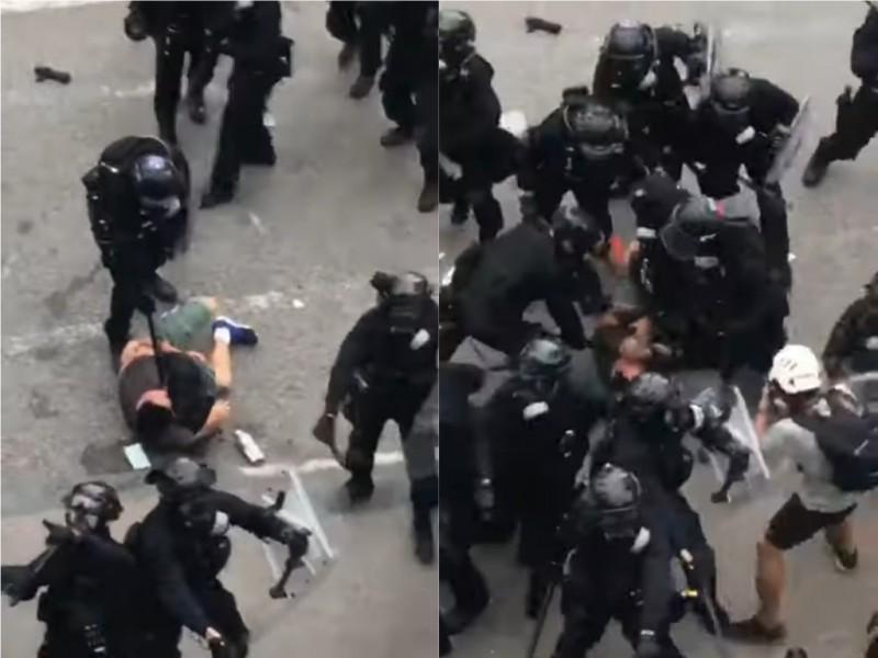 反送中》數十港警圍毆民眾網瘋傳 被打男子找到了!