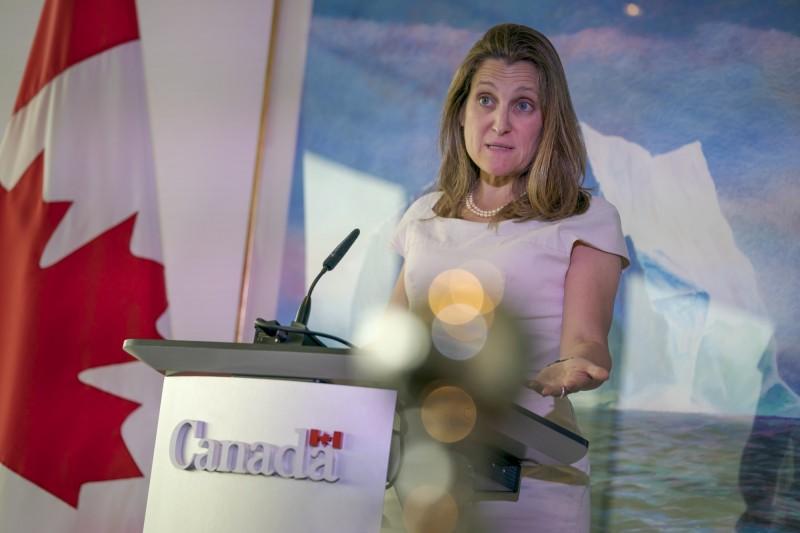 不放棄引渡孟晚舟! 加拿大外長:屈服於中國「很危險」