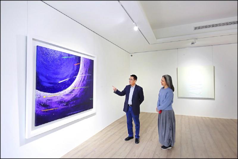 王慶祥期望透過四處林立的美術館,人人都能恣意沉浸在美的世界裡。(記者李惠洲/攝影)