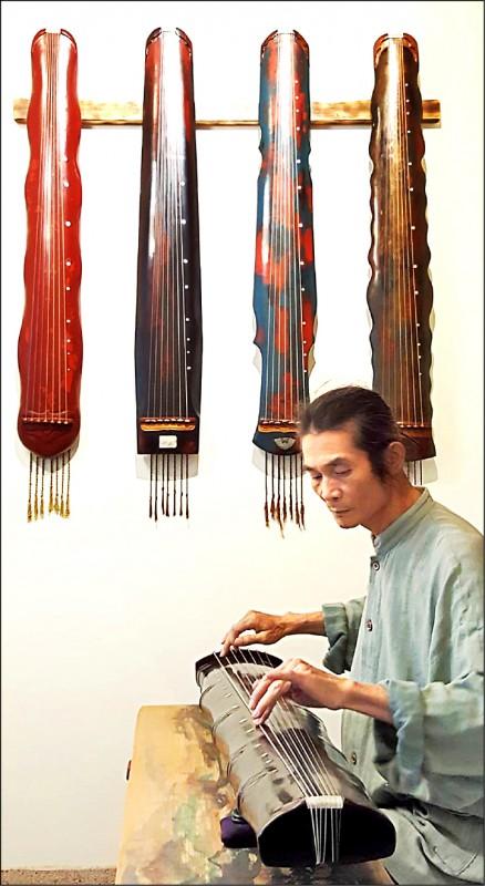 吳新年古琴藝術館。(大新美術館提供)