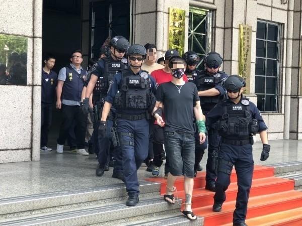 近年北聯幫成員涉及一些暴力糾紛滋擾案,引起警方全面進行蒐證。(記者翻攝)