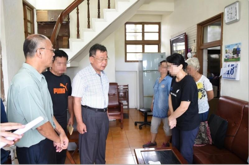 賴峰偉從海峽論壇提前返國 慰問泳渡溺斃警家屬
