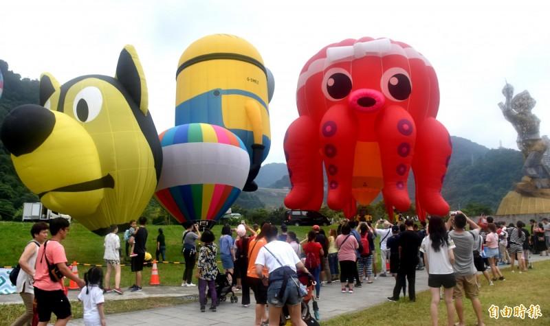 石門水庫熱氣球升空預購秒殺 民眾質疑黃牛搶票