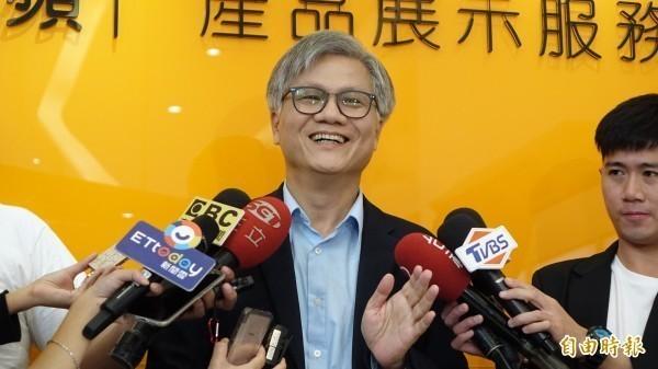 去年參選台北市長的吳蕚洋再批韓國瑜,登革熱不是只有高雄有,一點點小事就要發文抱怨,要如何成就大事?(資料圖)
