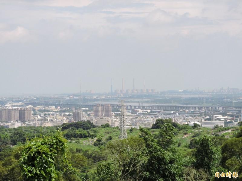 彰市規劃八卦山登山步道 可遠眺台灣海峽又能賞鷹