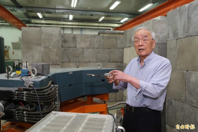 現年85歲的清大退休教授楊銀圳,聲稱在加速器實驗室中發現W中道子,不過清大加速器實驗室否認。(資料照)