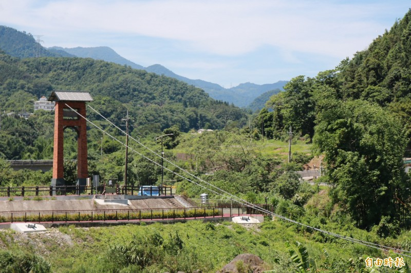 南庄景點是危橋!康濟吊橋整修 拚年底開放