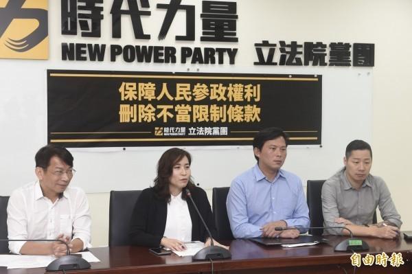 王浩宇認為時代力量收割民進黨的功勞,政黨支持度上升。(資料照)