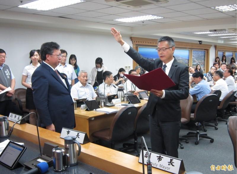 桃市工務局長賴宇亭就職 鄭文燦期勉推動改造桃園