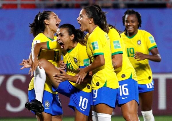 女足世界盃》史上最多! 瑪塔紀錄之夜送巴西進16強