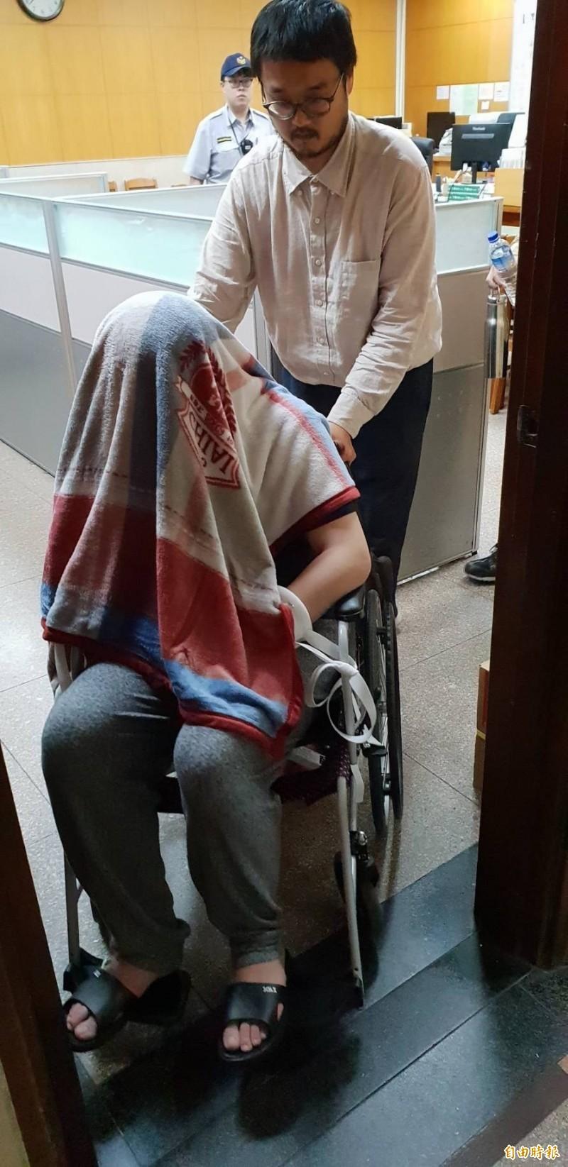 黃琪屢次託病阻撓審判被拘提  北院裁定5萬元交保