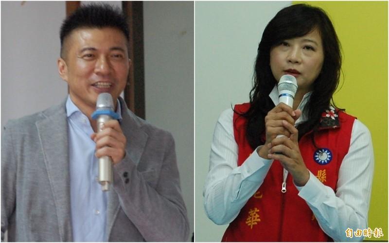 葉壽山與宋麗華角逐國民黨屏東立委第一選區代表權