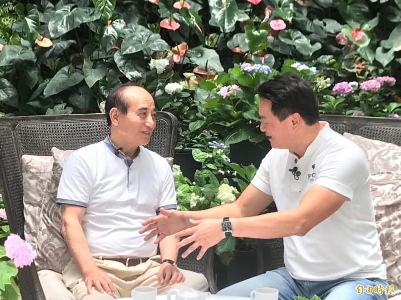 藍營總統初選人「荒島求生」 王金平:誰會活下來?