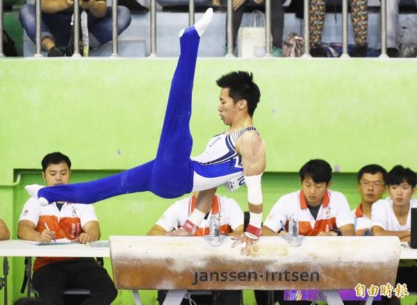 體操亞錦賽》李智凱拚全能金牌 前3項暫時領先中國、南韓所有人排第1