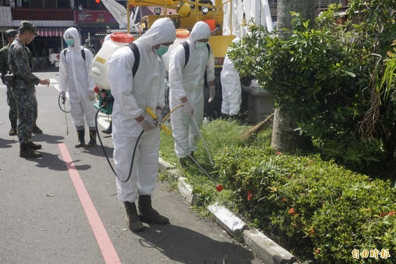 國軍爆韓市府沒申請化學兵防蚊 高市新聞局回應了