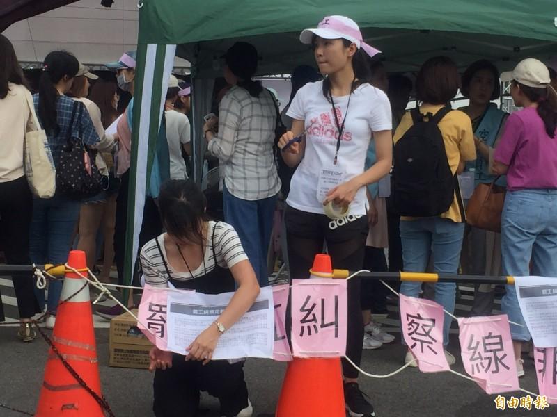 長榮空服罷工》員工提告妨害自由 工會強調依法設罷工糾察線
