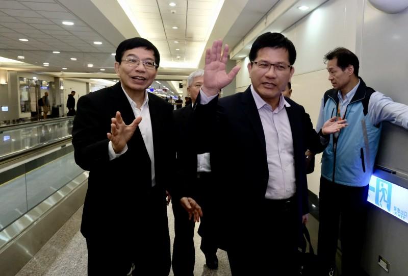 長榮空服罷工》林佳龍今晨返台 呼籲用談判解決爭議