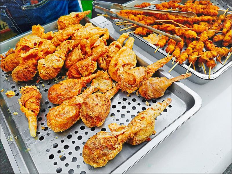 連台味鹹酥雞、炸物也有素版本!(圖片提供/緹兒蔬食夢)