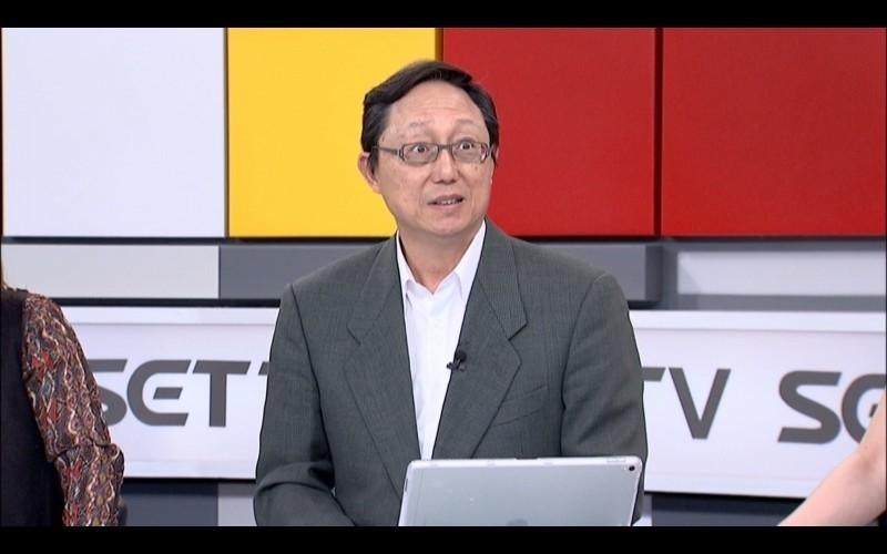 名嘴姚立明表示,要捍衛台灣的言論自由,他不再接受中字號媒體訪問。(資料照,三立提供)