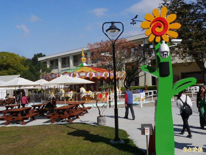 后里馬場將是明年台灣燈會主場區。(資料照,記者張軒哲攝)