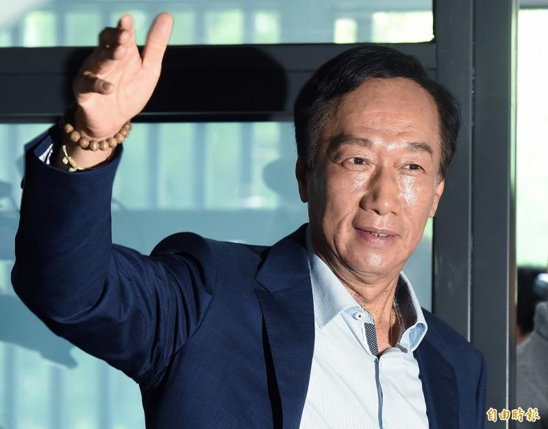 郭台銘稱台灣遇到瓶頸,卻被作家汪浩打臉,質疑治國能力。(資料照)