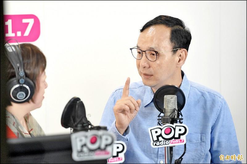 朱立倫(記者叢昌瑾攝)