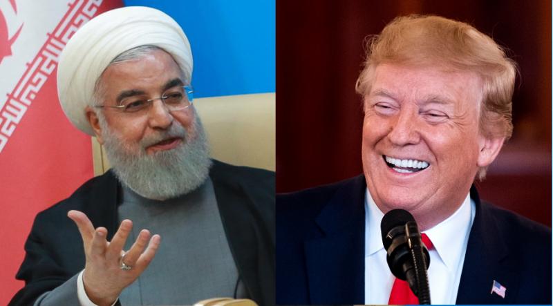 伊朗總統羅哈尼在電視節目上直言:「白宮都是智障(mentally retarded)。」(歐新社)