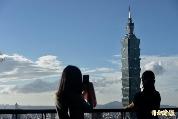 香港人移民首選國家包括台灣。(資料照)