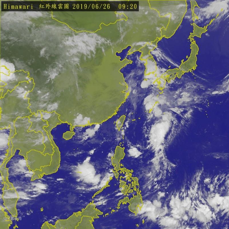 準聖帕未來會影響琉球及日本九州、四國等地。(中央氣象局)