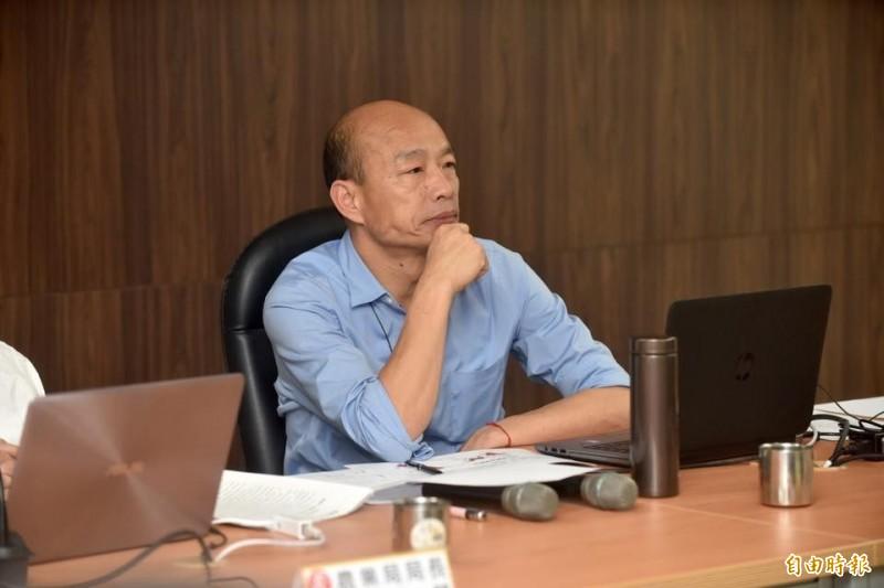韓國瑜時任台北農產運銷公司總經理期間被控濫發獎金等案,北檢下一步的偵辦行動將格外引人注目。(記者錢利忠攝)