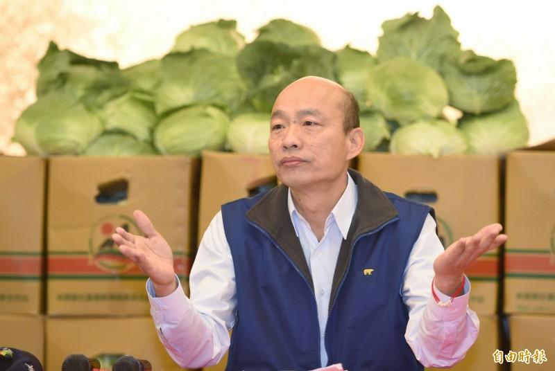 週刊報導,北檢發現在韓2013年北農上任後,公司的營業淨利逐年增加,光4年間淨利就成長2.5倍,但北農因業務量及業外收入淨利增加,每年累積上千萬元未入帳的「超額盈餘」,都成了韓國瑜的私房錢。(資料照)
