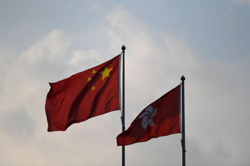 香港最新民調顯示,在2次「反送中」大遊行後,香港民眾對「香港人」的身分認同感、對「中國人」的身分認同感,分別創下1997年有紀錄以來新高和新低。(法新社)