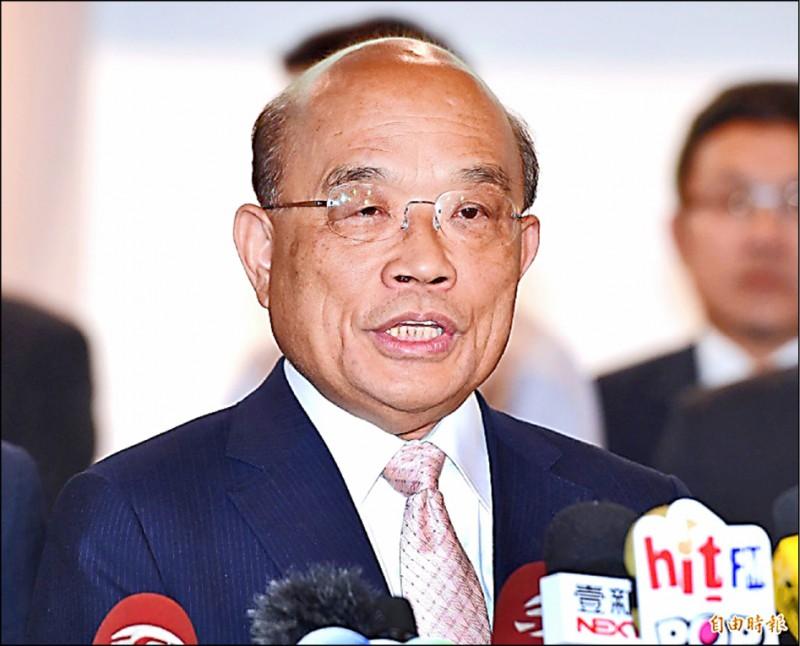 蘇揆表示,台灣總算被移出留校察看的黃牌名單,一年四百億元的遠洋水產,可以繼續送往世界各地販賣。(資料照)