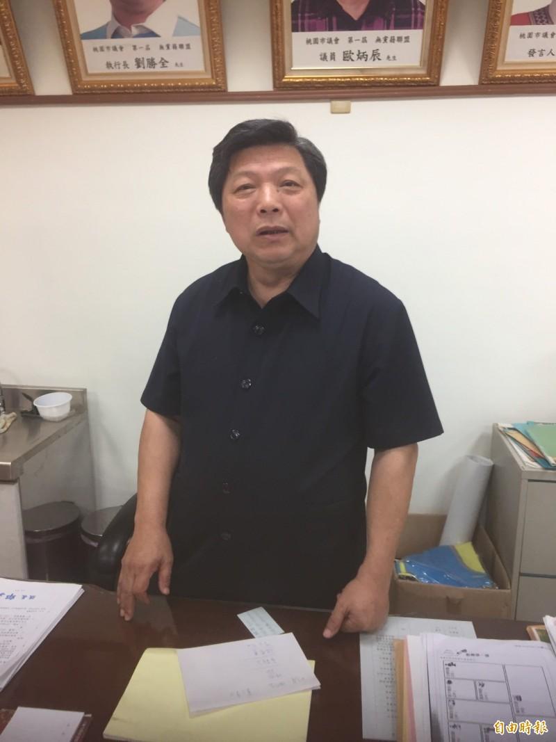 無黨籍中壢區桃園市議員張運炳涉嫌賄選,今天被判當選無效。(資料照)