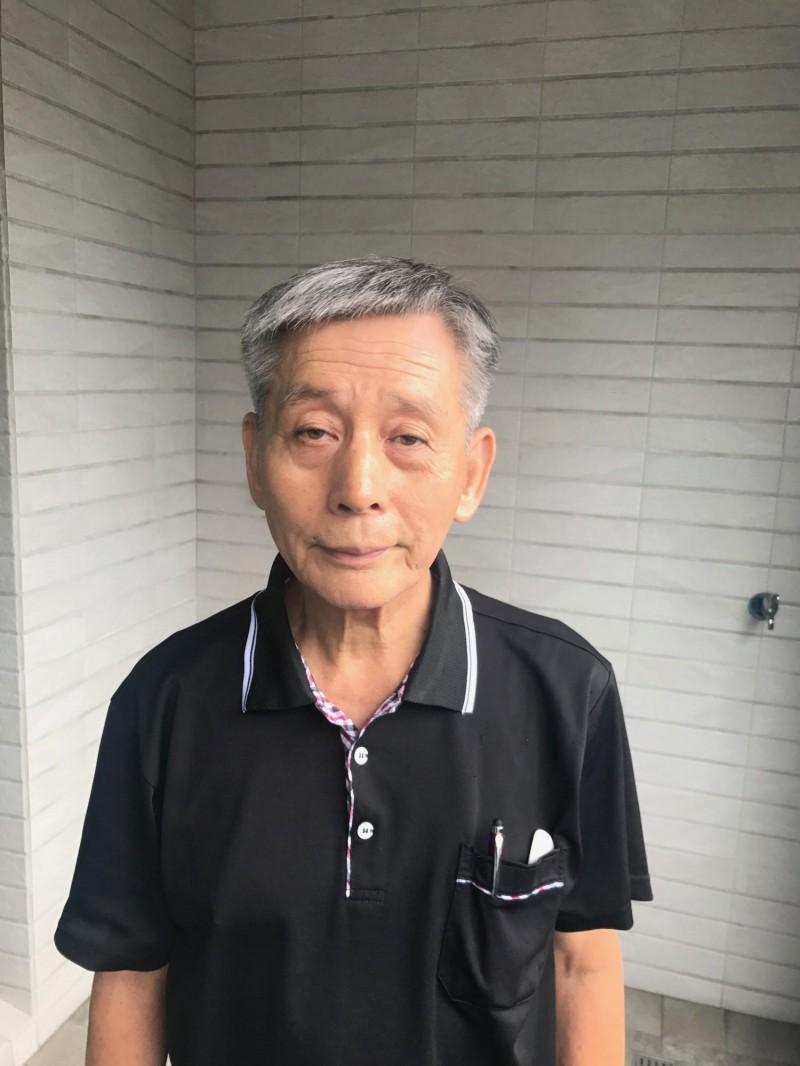 71歲楊天攢完成攻頂北大武山1000次,台灣第一人。(記者洪臣宏攝)